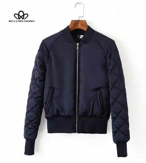 Aliexpress.com : Buy 2016 autumn winter Sewing cotton warm bomber ...