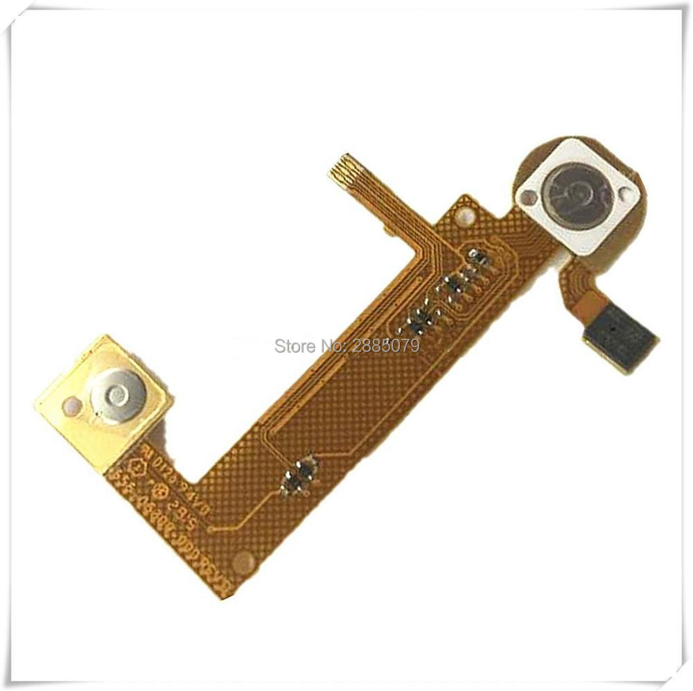 100% NEW original for GOPRO 4 HERO 4 for gopro4 Silver Black microphone flat cable shutter flex cable GOPRO cable repair