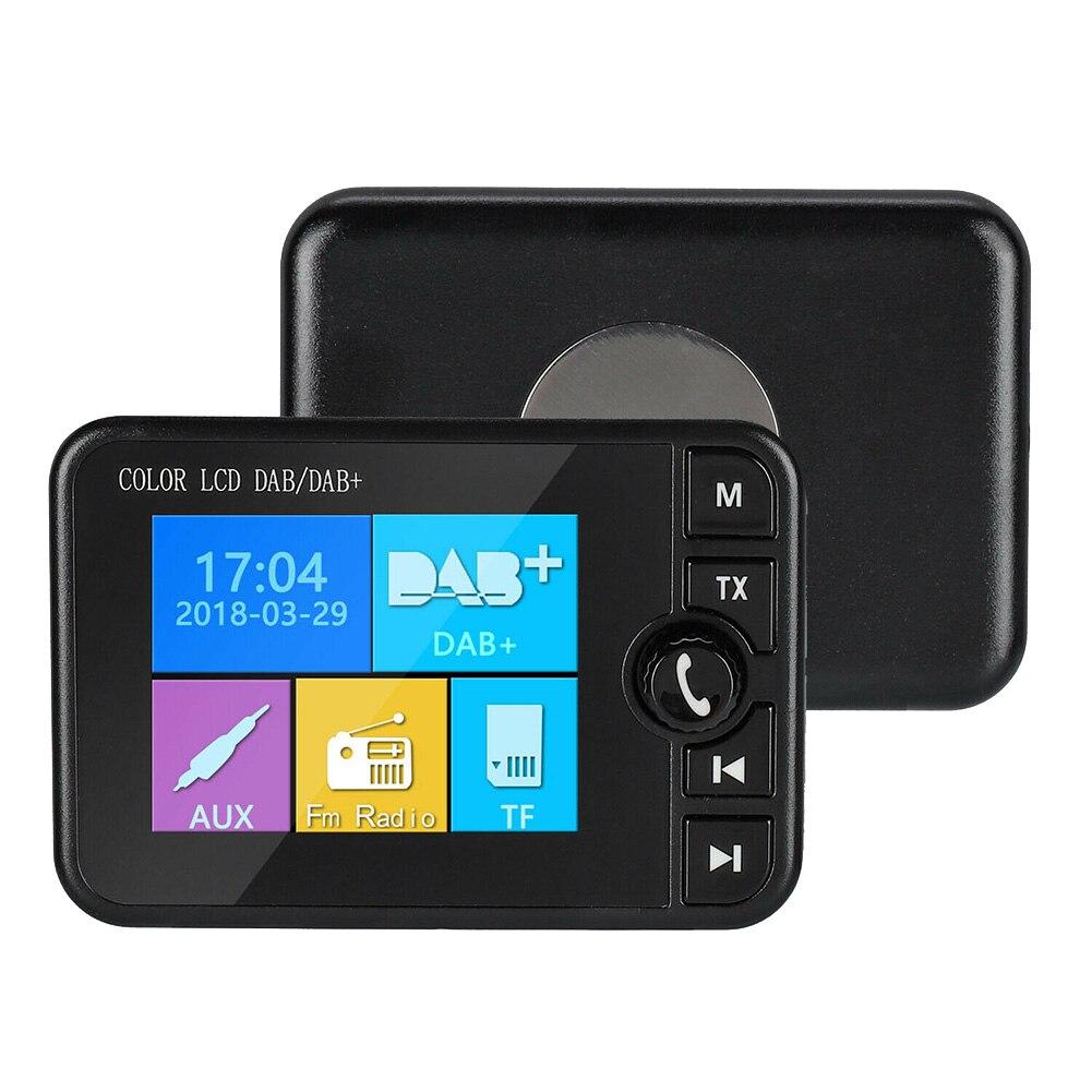Récepteur Radio DAB écran colorisé prise en charge de la musique Bluetooth réponse d'appel pour voiture XXM8