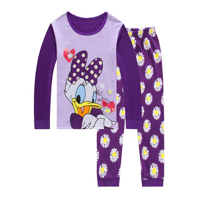 Cartoon Kid Pyjamas Autumn  Winter Boys girls Pajamas Set Children Pyjamas  christmas Kids Cloth Set Long Sleeve sleepwear P0145 21d4b94f5
