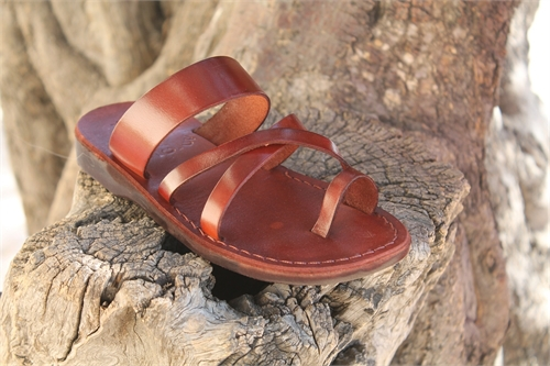nice shoes great deals in stock Leather sandals handcrafted in Jerusalem Jesus Sandals for ...