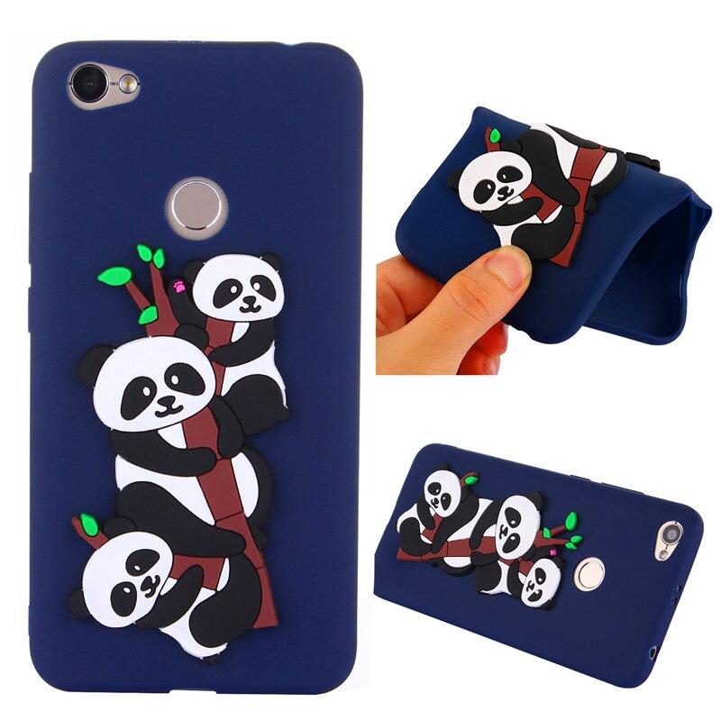 Xiaomi Nota Redmi 5A Note5A Pro Caso Panda Panda Bonito Silicone TPU Pele Macia de Volta Caso Capa para Xiaomi Redmi nota 5A Note5A Pro
