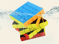 4pcs/Pack Shengshou Frosted Version Gem 2x2x2 3x3x3 4x4x4 5x5x5 Magic Cube Stickerless Puzzle Cube Magico Cubo For Beginner