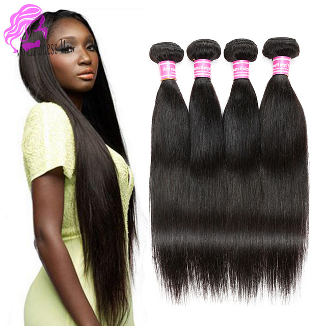Malaysian Virgin Hair Extensions Malaysian Straight Hair 4 Bundles