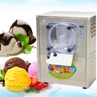 Free ship stainless steel 110v 60hz a batch freezer machine R134A, R401A,R404 hard ice cream maker machine