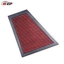 R EP 교체 패널 에어 필터 bmw f10 f18 용 520i 528i e84 x1 e89 z4 oem 13717582908 고 유량 세척 가능 재사용 가능
