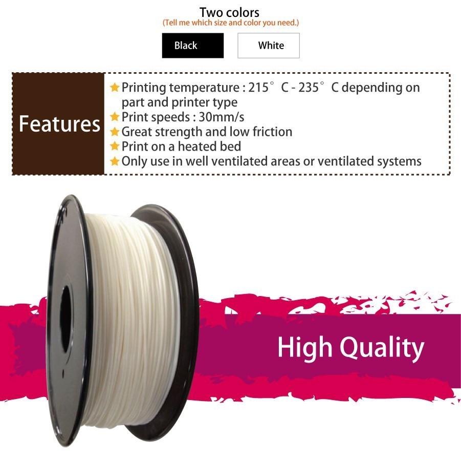 3D Printer Filament - POM 2