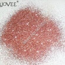 50 г-0,2 мм 008 дюймов металлической розово-Золотое конфетти цвета золота блестящие простые ногтей Блеск Пыль порошок для ногтей искусство косметические блестки ремесла