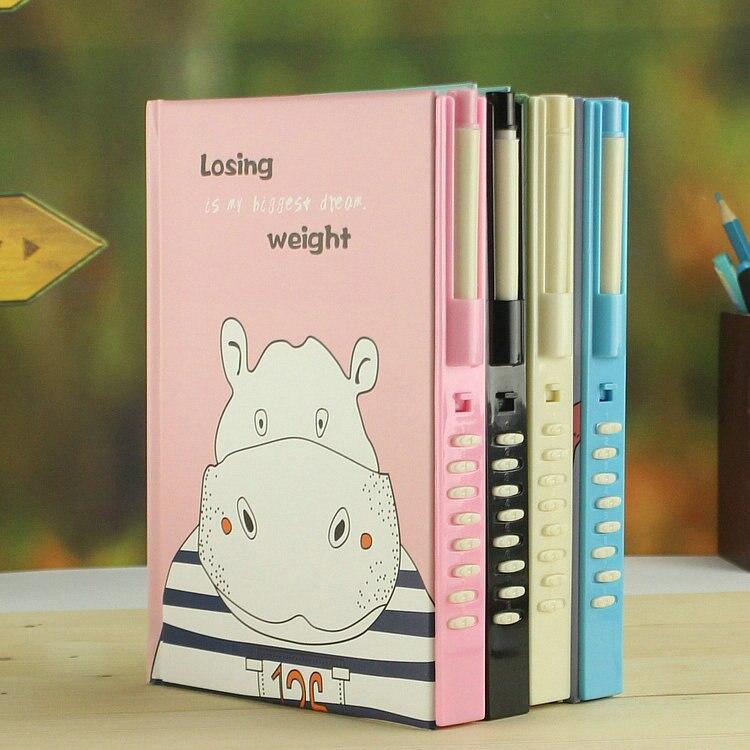 Office & School Supplies Jianwu Anlage Notebook Kreative Passwort Buch Mit Schloss 2019 Tagebuch Planer Kawaii Weichen Abdeckung Persönlichen Kugel Journal Kawaii
