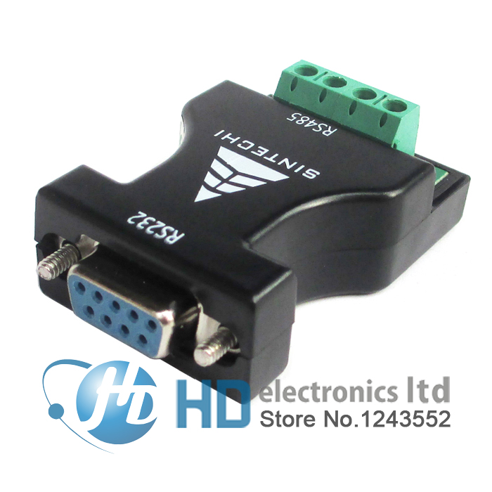 RS232 to RS485 adapter switch 232 turn 485 adaptor 485 communication adapter converter rs232 to rs485 converter
