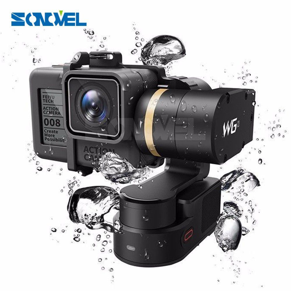 Feiyu Tech FY WG2 Waterproof Wearable Gimbal For GoPro Hero5/Hero4/Session new 3 axis gimbal for gopro session fy wgs