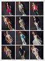 5 компл./лот Оптовая Новая Мода Уир Указан Стильные pullip Кукла Аксессуары Одежды Повседневная Принцесса много Одежды для Barbie Doll