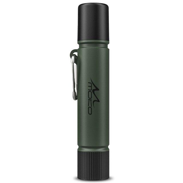 MoKo портативный фильтр для питьевой воды, аварийный персональный очиститель воды для кемпинга, с внутренним углеродом и ультра фильтром в сборе BPA бесплатно