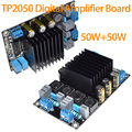 Brand New Class D Digital Amplifier Board TP2050+TC2001 50W+50W  DC18-24V 3A Free Shipping 10000826