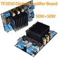 Brand New TP2050 + TC2001 Classe D Placa Amplificador Digital 50 W + 50 W DC18-24V 3A Frete Grátis 10000826