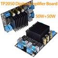 Nuevo Tablero Del Amplificador Digital de Clase D TP2050 TC2001 + 50 W + 50 W DC18-24V 3A Envío Libre 10000826