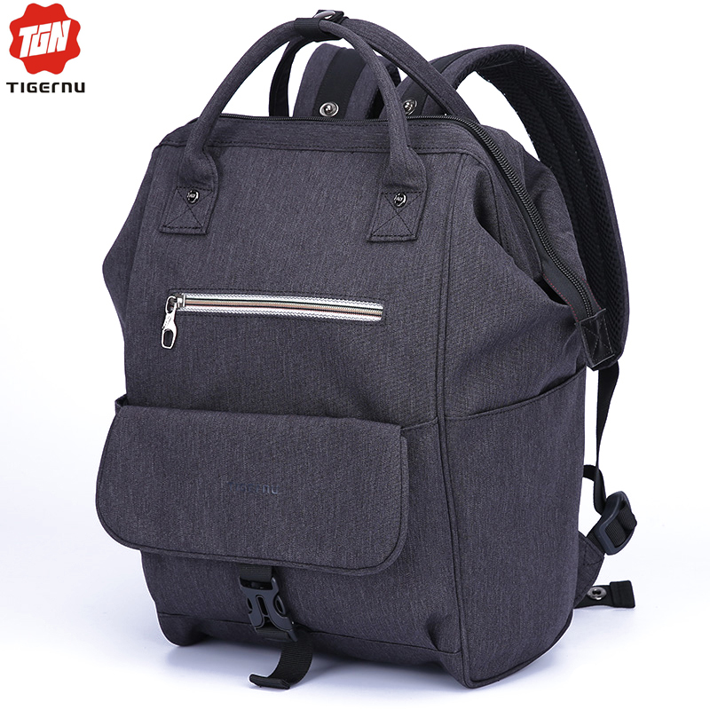 9c0618eec1 2017 Women Backpack Tigernu Brand Nylon waterproof 12inch Mini Laptop Bag  Men Ipad Laptop Backpack Handbag summer Bags For Women