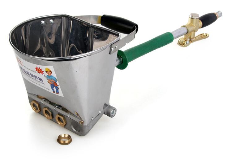 Fast Delivery Mortar Sprayer Wall Mortar Gun Stucco shovel Hopper Air Gun With Removable Nozzles