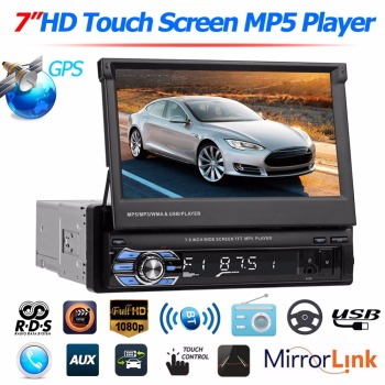 9601G Upgraded Car Stereo MP5 Player GPS Navi RDS AM FM Radio+ Map Car Accessories Car Styling