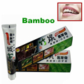 Shiny white dental oral bamboo charcoal tooth teeth whitening black toothpaste 100G remove Yellow teeth Smoke stains
