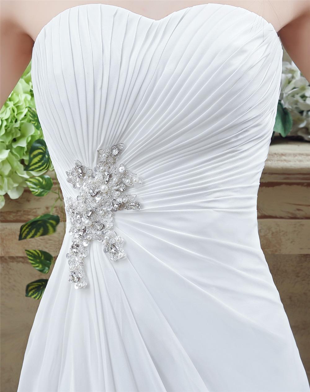 41fc147b7 Cheap Wedding Dress Boho 2018 Strapless Vestidos Novia A Line Chiffon  Bridal Dresses Custom Made Online Shop China. 11 (1) 11 (2) 11 (6) ...
