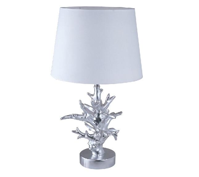 FUMAT Coral Table Lamps Modern White Fabric Lampshade Abajour Para Quarto  Living Room Abat Jour Pour Lampe Study Coral Lamp In Table Lamps From  Lights ...