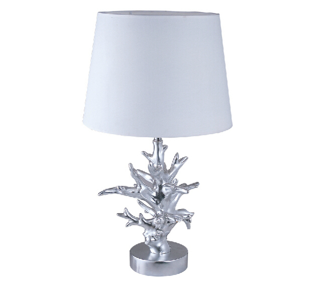 FUMAT Coral Table Lamps Modern White Fabric Lampshade Abajour Para Quarto  Living Room Abat Jour Pour