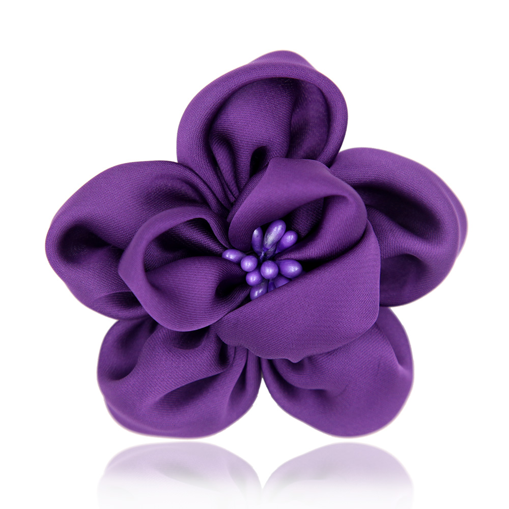 Compare prices on silk flower pins online shoppingbuy low price silk flower fabric brooch pin handcraft hair fashion jewelry women garment accessory 2016china dhlflorist Gallery