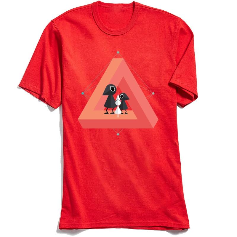 Penrose Kingdom Top T-shirts 2018 New Fashion Short Sleeve Customized 100% Cotton O Neck Mens Tops T Shirt Tee-Shirt Summer/Fall Penrose Kingdom red