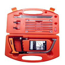 New Hand Tools 11 in 1 Magic Saw Multifunction Hand DIY Saw Wood Glass Saw Cutting Metal Wood Glass Plastic Rubber 9 Blades