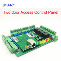 Two door Access Control Panel RFID access control board TCP/IP Double Door Security Access Controller T02