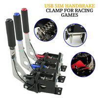 Sim Racing Game USB Handbrake Clamp PC Windows For G25/27/29 T500 FANATECOSW DIRT RALLY Simulator USB Handbrake SIM RC Car