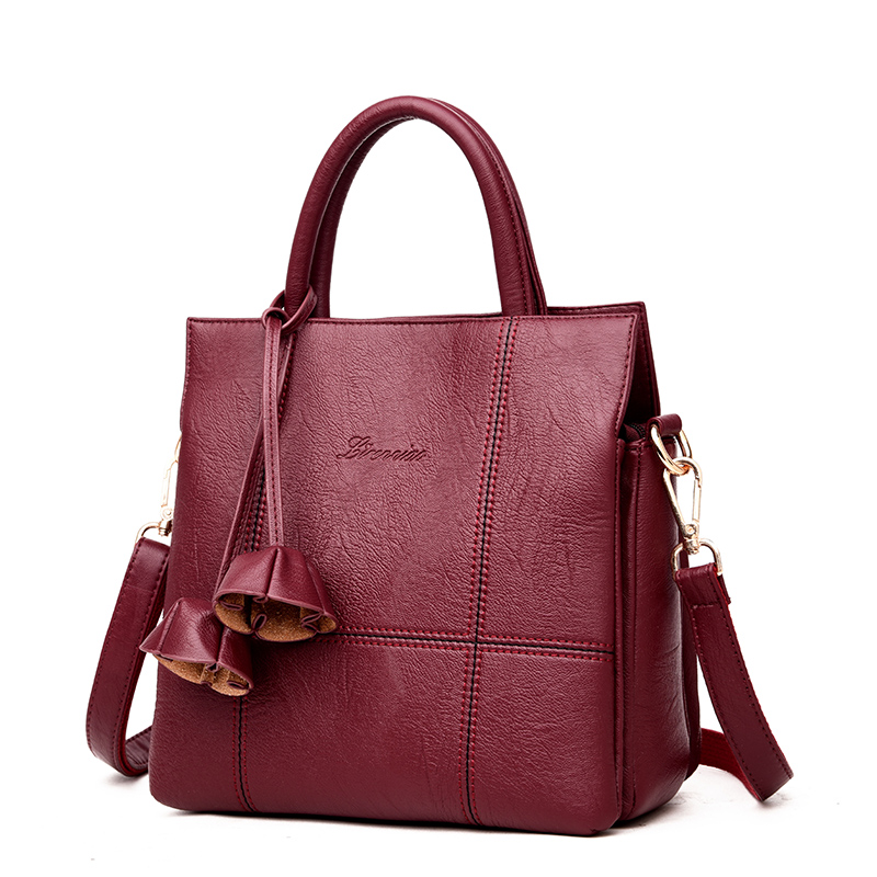 Luxury Designer Women Leather Bags Handbags Famous Brand Shoulder Bag Ladies Large Capacity Tote Bag Female Handbag sac a main joyir fashion genuine leather women handbag luxury famous brands shoulder bag tote bag ladies bolsas femininas sac a main 2017