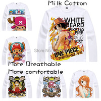 2015 ONE PIECE Luffy Chopper Robin T Shirt Cosplay Costumes Men S Japanese Famous Anime T