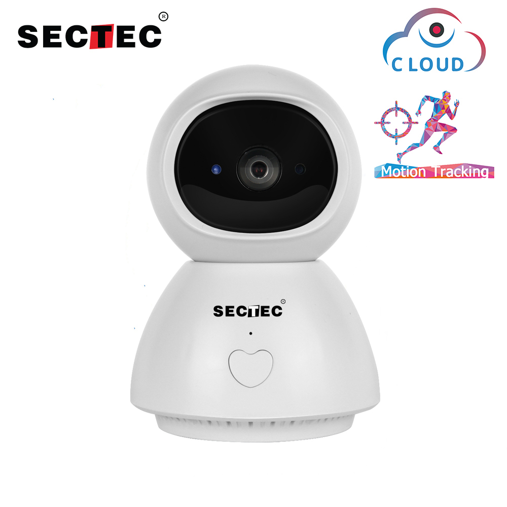 SECTEC 1080P Wireless Reverse Call IP Camera  Intelligent Auto Tracking Home Security Surveillance CCTV Network Wifi CameraSECTEC 1080P Wireless Reverse Call IP Camera  Intelligent Auto Tracking Home Security Surveillance CCTV Network Wifi Camera