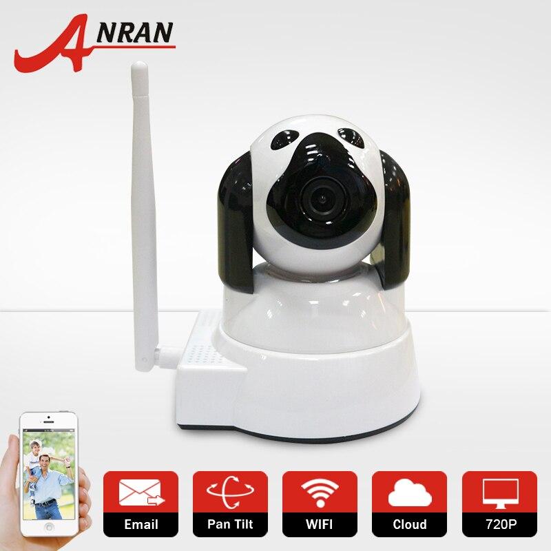 ФОТО Latest CCTV Camera WIFI Mini Cute Dog Design Baby Monitor Security P/T SD Card Slot P2P 720P Surveillance IP Camera Wireless