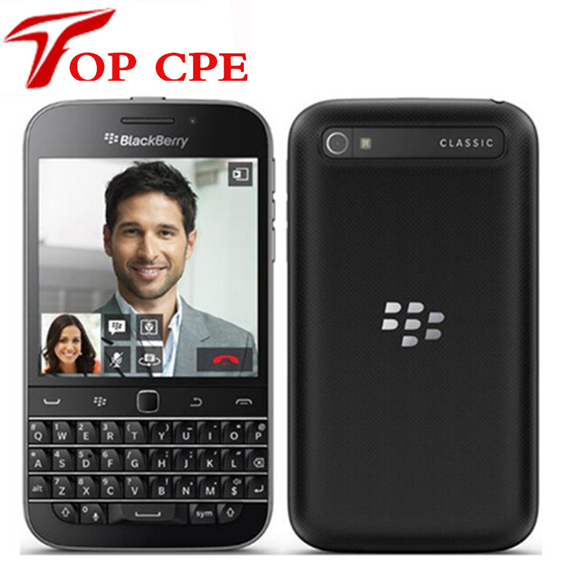 "Original Blackberry Q20 clásico 3,5 ""16GB ROM 2GB RAM 4G LTE 8MP Dual Core Bluetooth WIFI Smartphone teclado QWERTY teléfono celular"