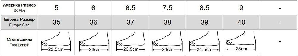 5(22.5cm)-9(25cm)