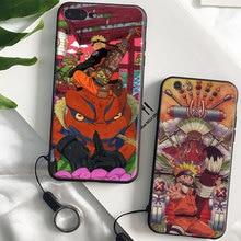 Naruto Uzumaki Anime Coque soft silicone TPU Phone Case cover Shell For Apple iPhone 5 5S SE 6 6S 6Plus 6sPlus 7 7Plus 8 8Plus X