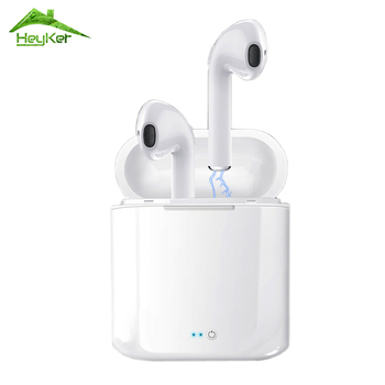 Audifonos i7s Tws Bluetooth Earbuds Wireless Headphones Headset Stereo In-Ear Earphones With Charging Box for iPhone and Android