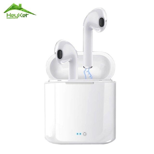 Audifonos I7s Tws słuchawki bluetooth bezprzewodowy/a słuchawki zestaw słuchawkowy zestaw słuchawkowy Stereo słuchawki douszne z okno ładowania Kulaklik fone sem fio