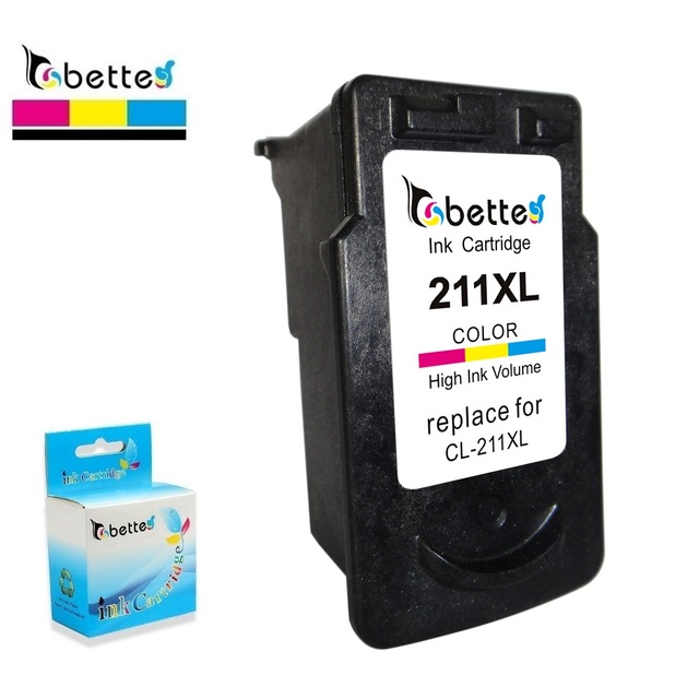CL 211XL Ink Printer Cartridge For Canon 211 CL211 PIXMA IP2702