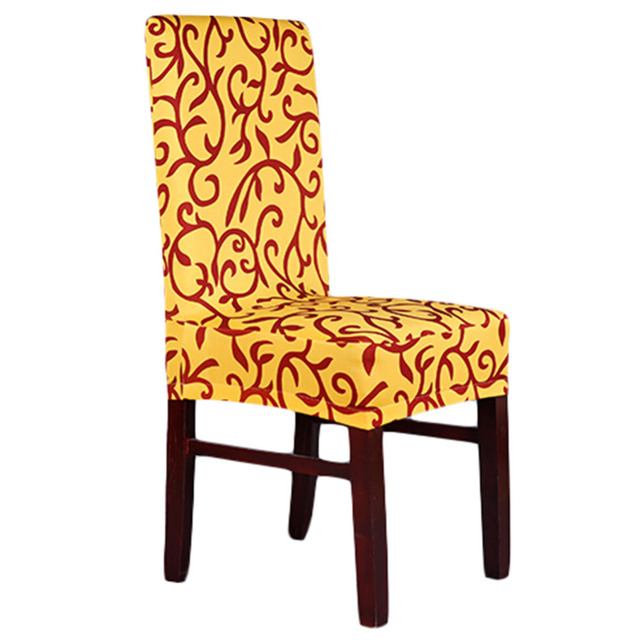 Dining Chair Covers Aliexpress Hanging Outdoor Amazon Spandex 11 Colors Stretch Cover Hotel Restaurant Weddings Living Room Banquet Home Decoration