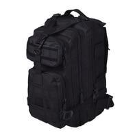 JHO Men Outdoor Backpack Military Tactical Backpack Camping Hiking Hunting Trekking Backpack Black