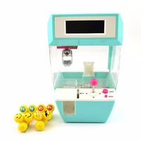 Coin Operated Candy Grabber Doll Candy Catcher Crane Machine Alarm Clock Board Game Party Fun Toys