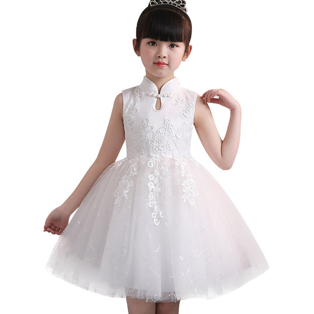 7a0d178a72dd Online Shop Kids Clothes New Baby Girl Lace Silk Princess Dress for ...
