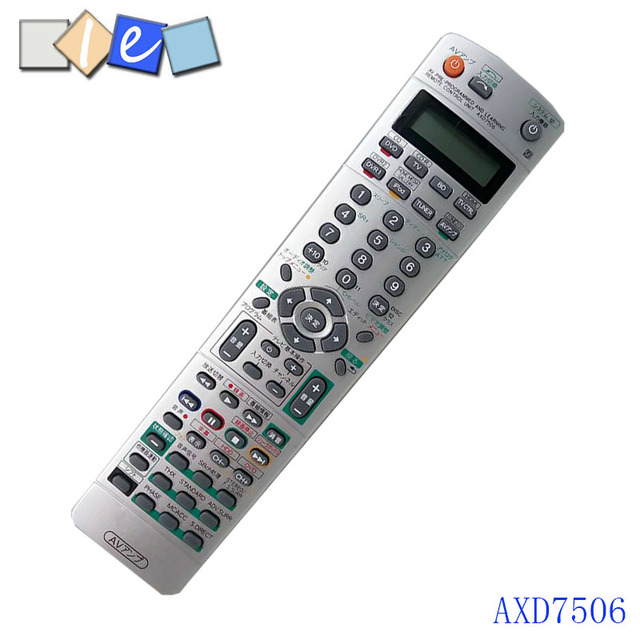 Original New For Pioneer Axd7506 Av Receiver Remote Control Anese
