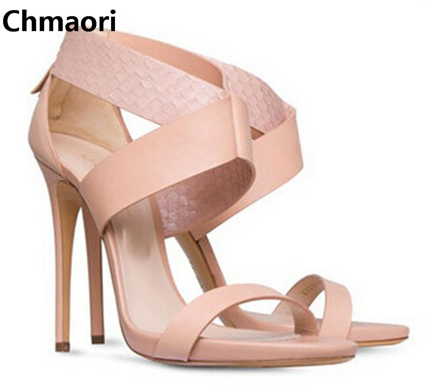 2015 new fashion sweet pink leather open toe ankle strap sandals high heel dress shoes woman gladiator sandals new arrivals pale pink shiny leather kawaii rabbit ankle strap sweet lolita shoes 5 5cm heel pumps