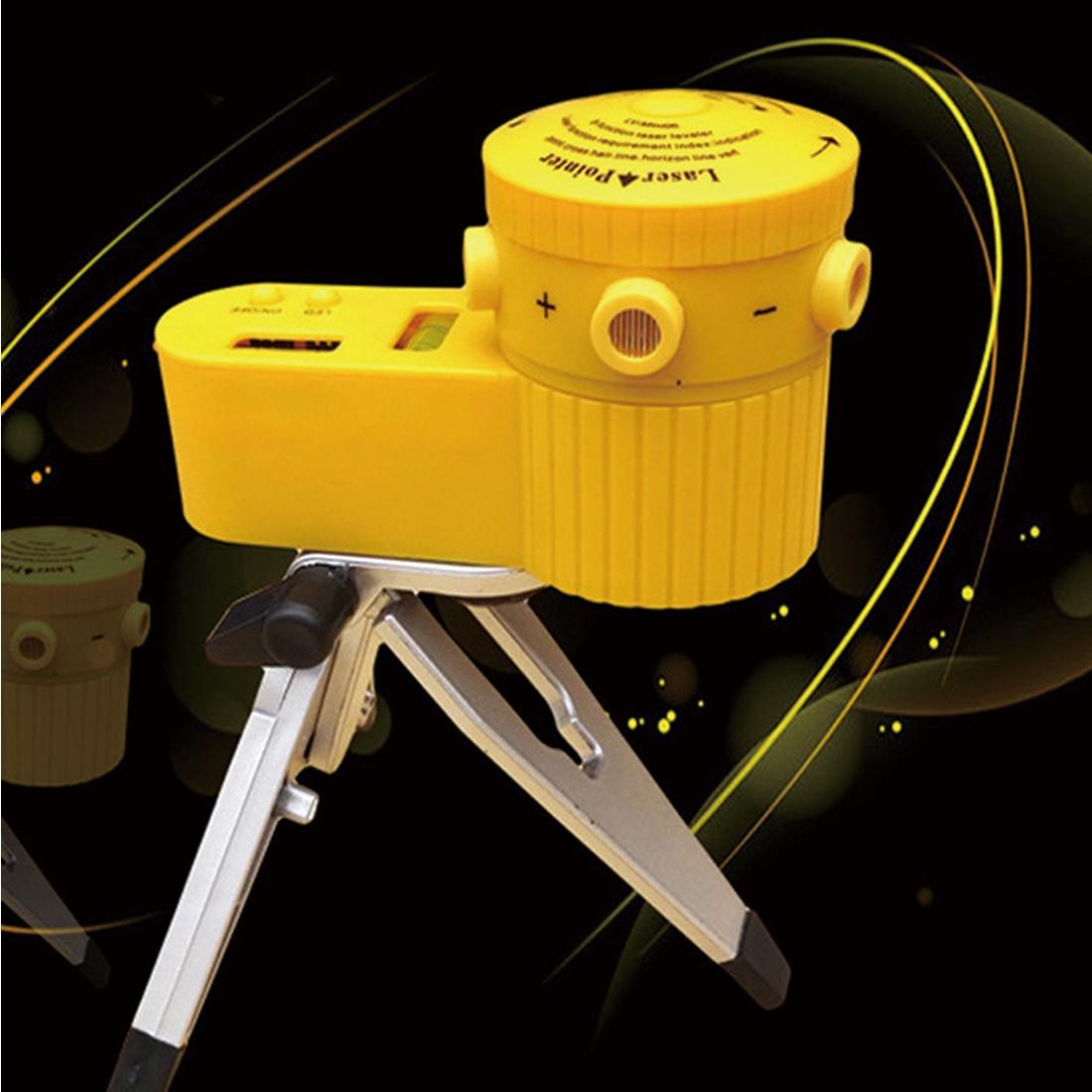 Laser 1 PC Weltweit Multifunktions Kreuz Laser Level Leveler Vertikal Horizontal Line Tool Mit Stativ