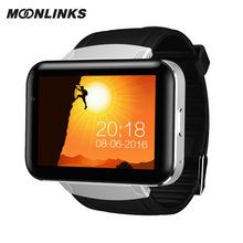 Moonlinks DM98 relogio smart watch 900mAh durable battery mens smart watch GPS video call smartwatch 2018 android horloge